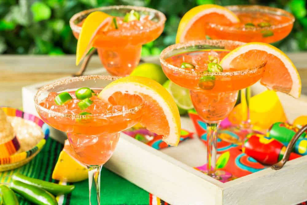 Mexican inspired cocktails