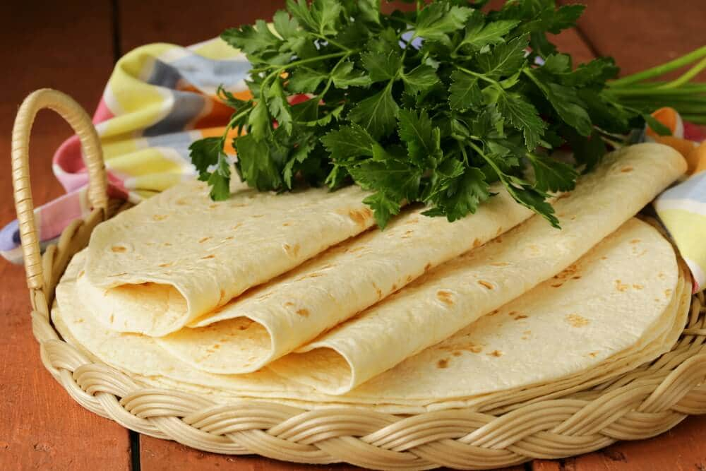 whole wheat - type of tortillas you can use