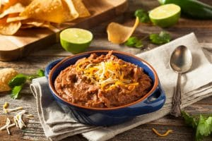 Homemade Refried Pinto Beans - El Rincon Mexican Kitchen & Tequila Bar