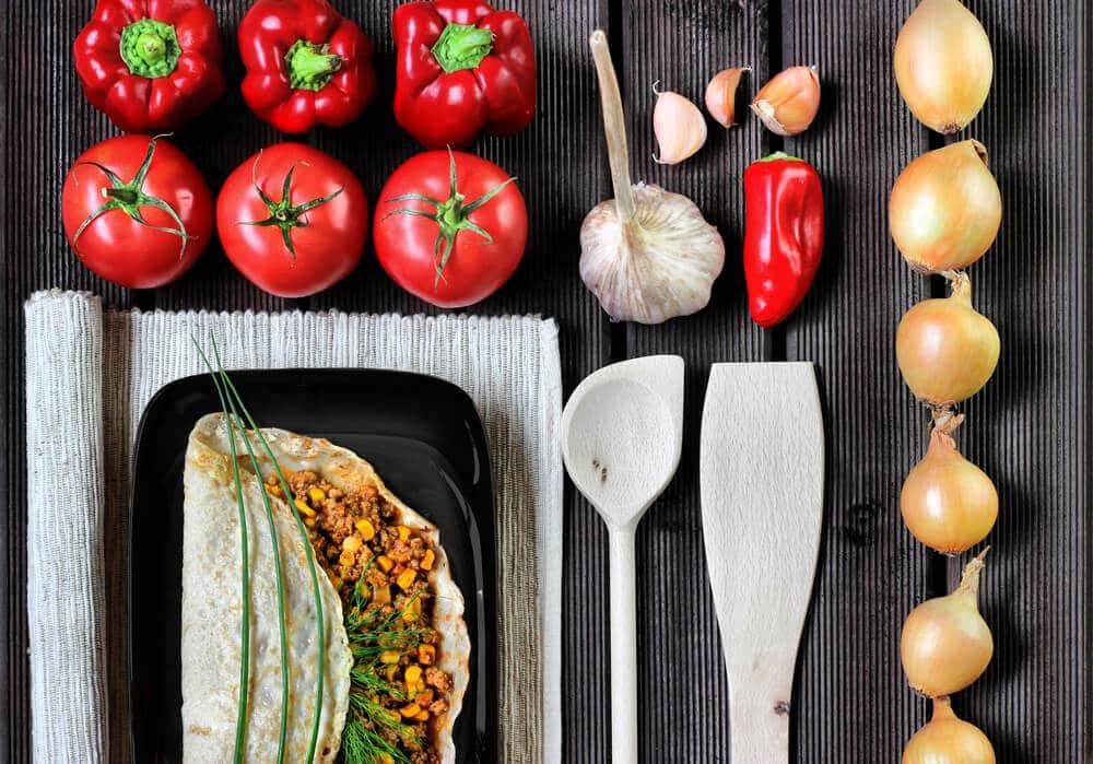 Mexican burrito - El Rincon Mexican Kitchen & Tequila Bar