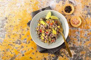 Mexican quinoa salad with black beans - El Rincon Mexican Kitchen & Tequila Bar