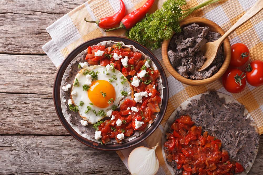mexican breakfast huevos rancheros