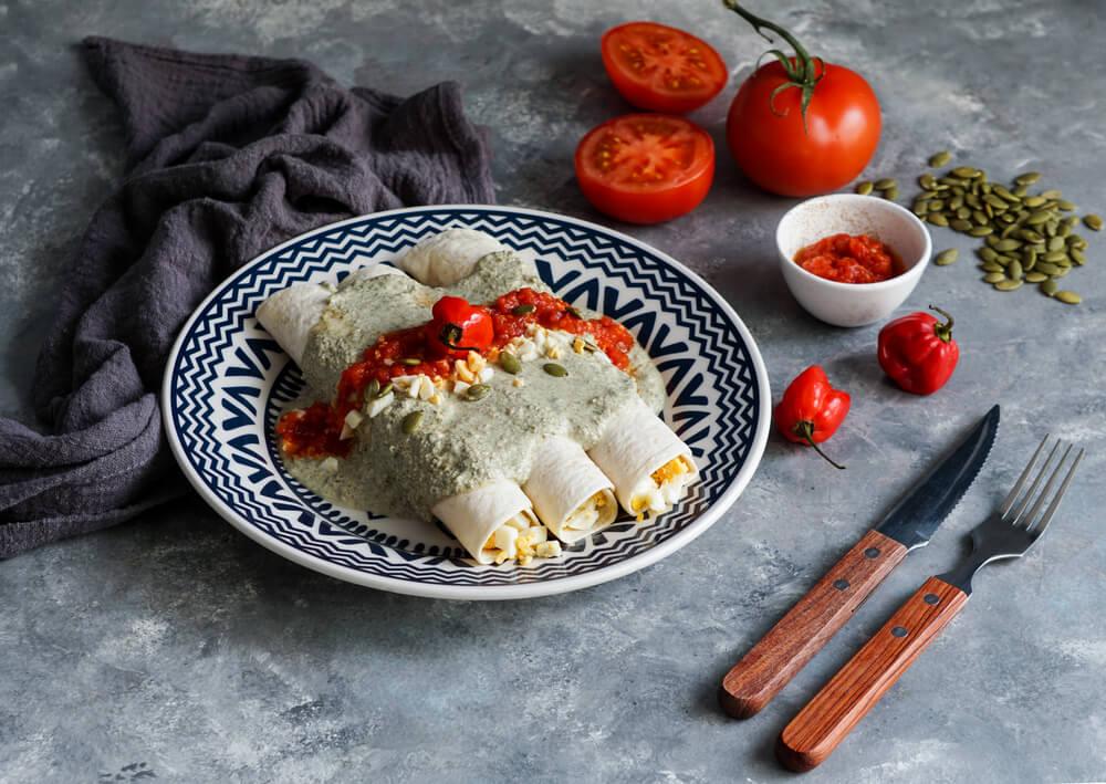 papadzules mexican breakfast