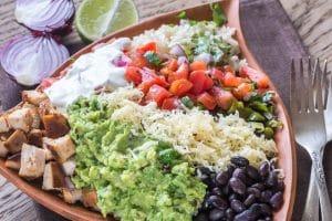Chicken burrito bowl - El Rincon Mexican Kitchen & Tequila Bar