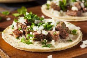 Homemade Carne Asada Street Tacos - El Rincon TX