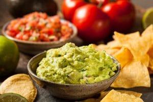 mexican appetizer guacamole