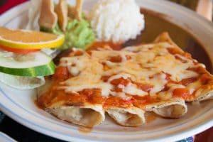 Enchiladas with cheese-Elrincomtx.com