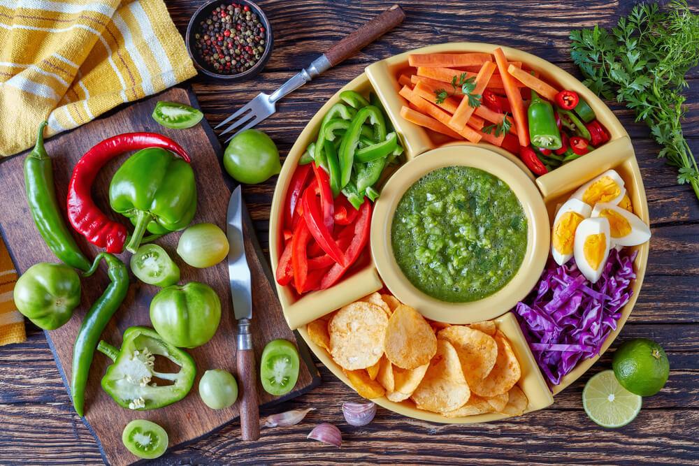 Green salsa verde-EL Rincon Mexican Kitchen & Tequila Bar