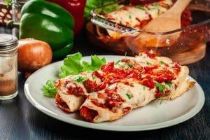 Traditional Mexican Enchiladas-Elrincontx.com